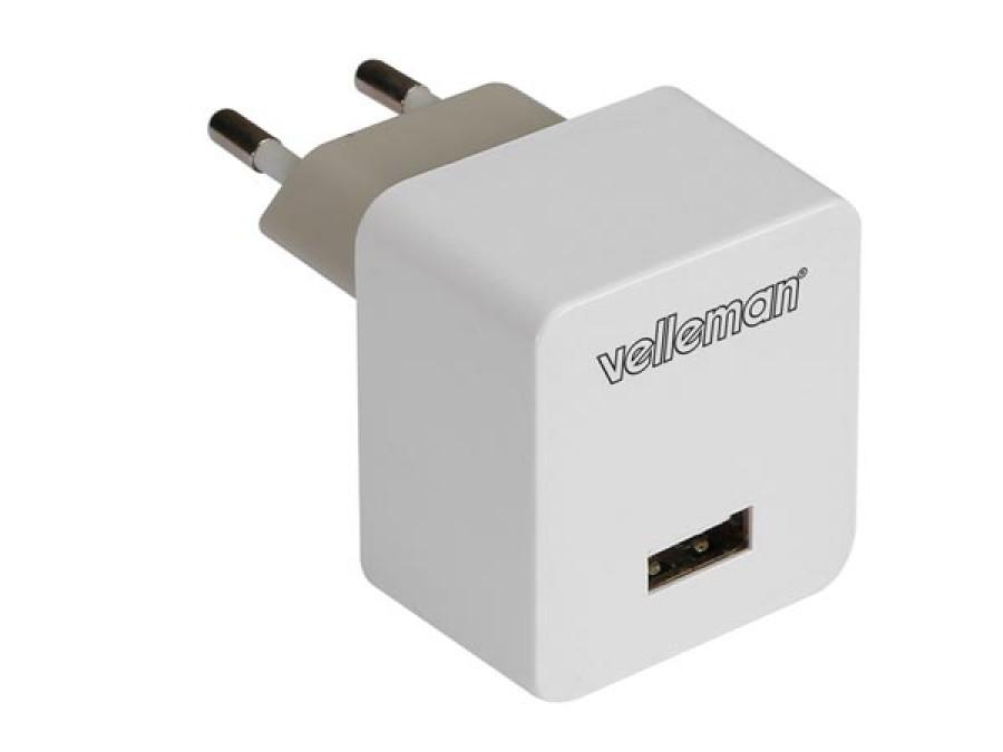 KOMPAKTOWA ŁADOWARKA, WYJŚCIE USB 5 V - 2,4 A