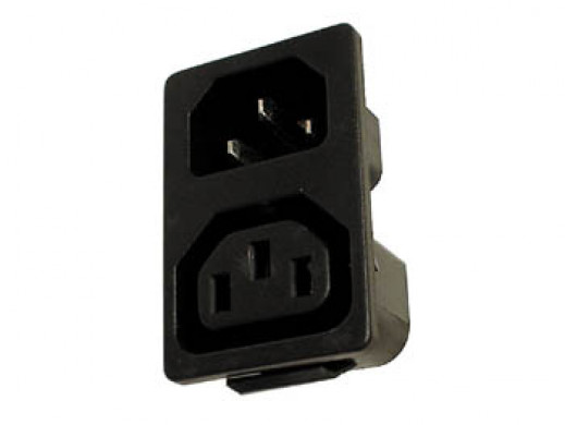 POWER AC SOCKET MALE & FEMALE