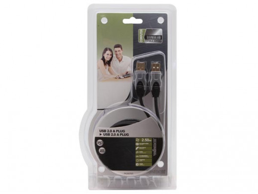 KABEL USB 2.0/WTYK USB A NA...