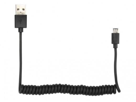 KABEL SPIRALNY - WTYK USB...
