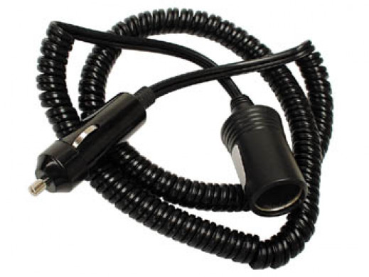 CAR PLUG EXTENSION CORD