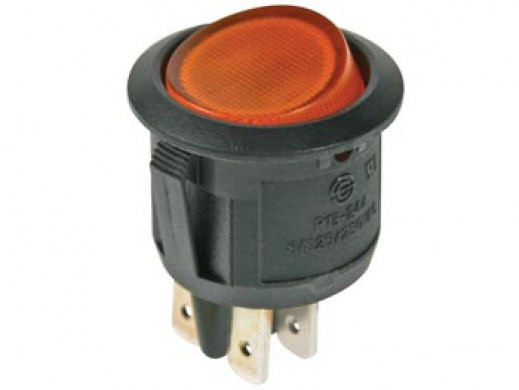 ILLUMINATED ROCKER SWITCH -...