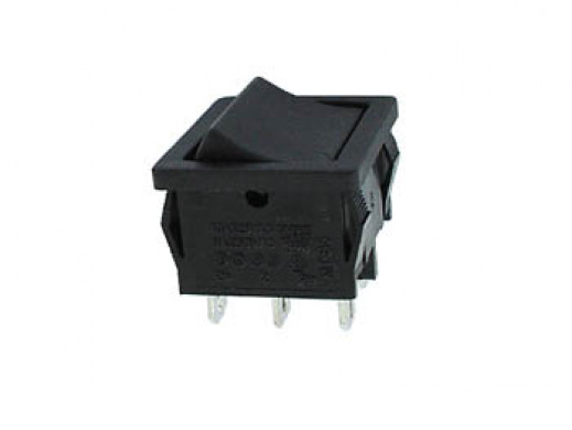 POWER ROCKER SWITCH 5A-250V...