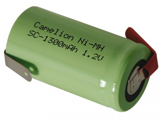 NI-MH CELL 1.2V-1.3Ah WITH...