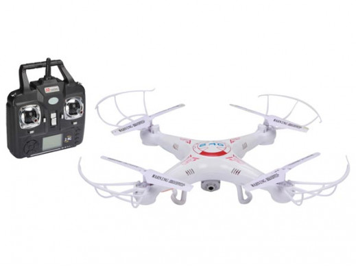 QUADCOPTER Z KAMERĄ HD 2 MP...