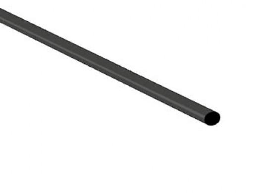 SHRINKABLE TUBE 2.4mm - BLACK