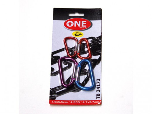 KEY RING - 4 pcs