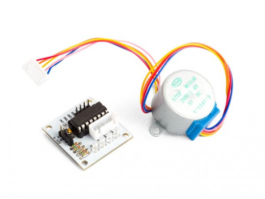 5 VDC STEPPER MOTOR WITH...