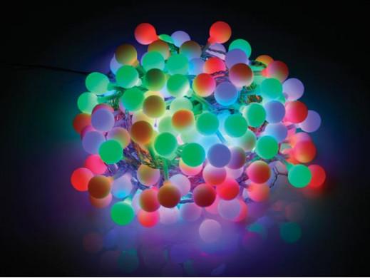 KOLOROWE LAMPKI CHOINKOWE -...