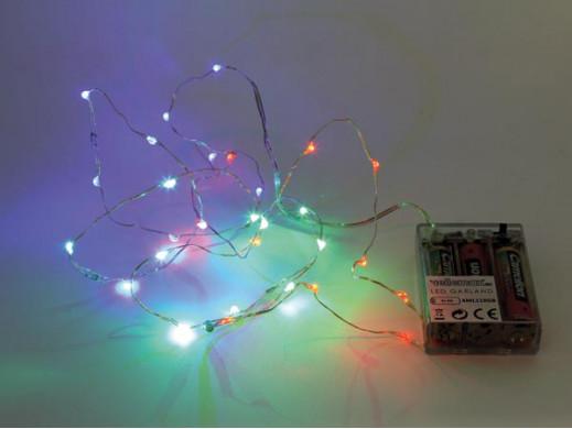 GIRLANDA LED - RGB - 20...
