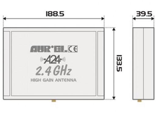 2.4 GHz HIGH-GAIN ANTENNA...