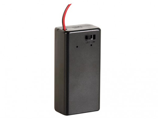 BATTERY HOLDER FOR 9V-CELL