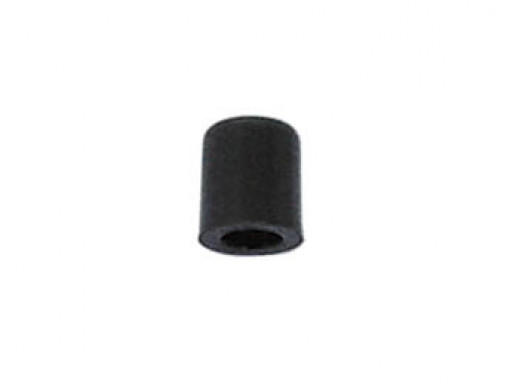 PUSH-BUTTON CAP - BLACK Ø5mm