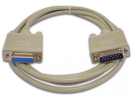 GAME PORT CABLE SUBD15 MALE...