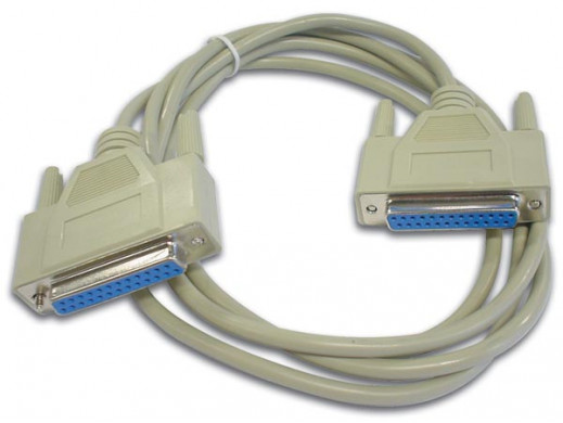 NULL MODEM CABLE SUBD25...