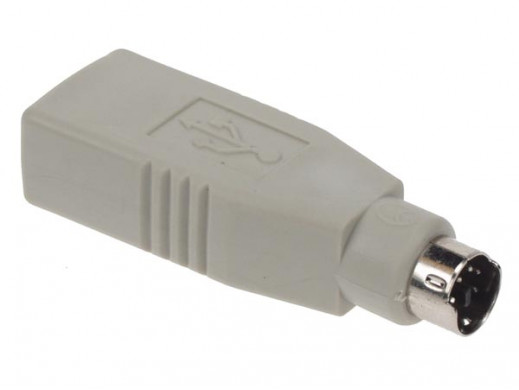 USB ADAPTER - PS2 MALE TO...