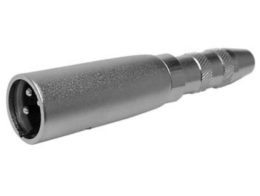 3P XLR PLUG TO 6.35mm JACK...
