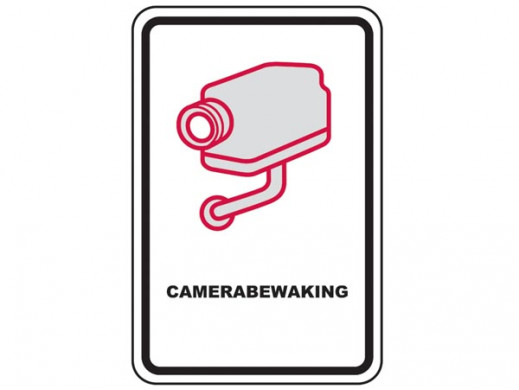 CCTV WARNING SIGN -...