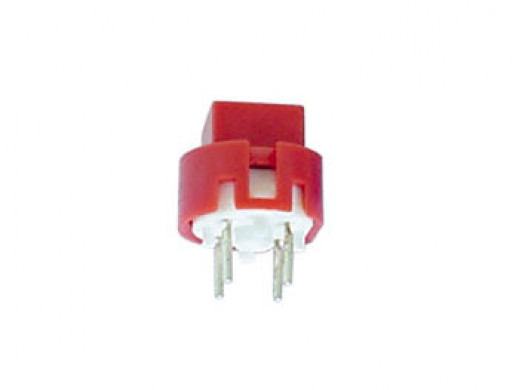 KEY SWITCH SQUARE 7.5mm RED