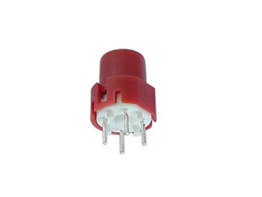KEY SWITCH ROUND 9.0mm RED