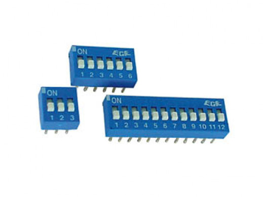 DIP SWITCH 8 POSITIONS