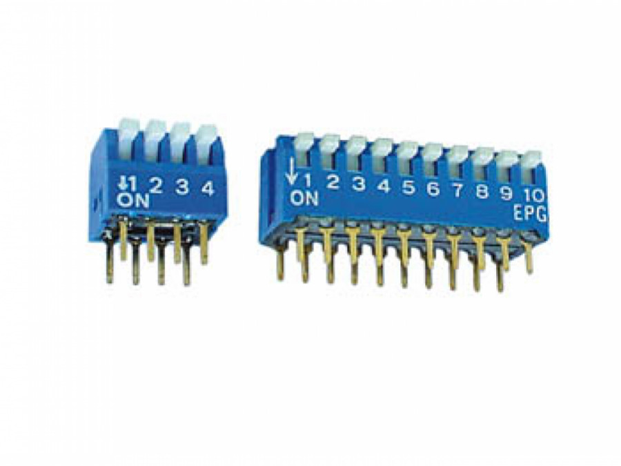 PIANO DIP SWITCH 8 POSITIONS