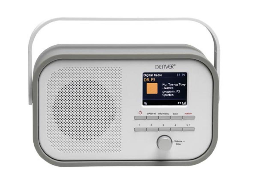 DAB-40GREY - RADIO DAB+/FM...