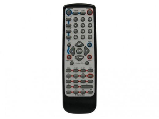 IR REMOTE CONTROL FOR DVR'S