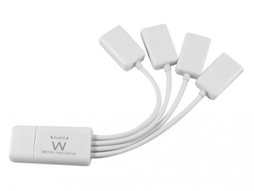 HUB USB 2.0 Z 4 PORTAMI