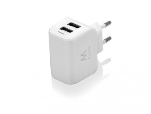EWENT - 2 PORT USB SMART...