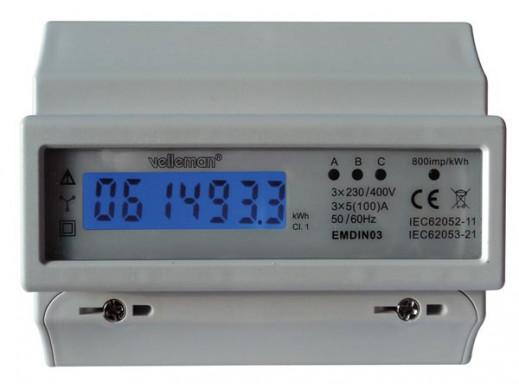 LICZNIK kWh 3-FAZOWY DO...