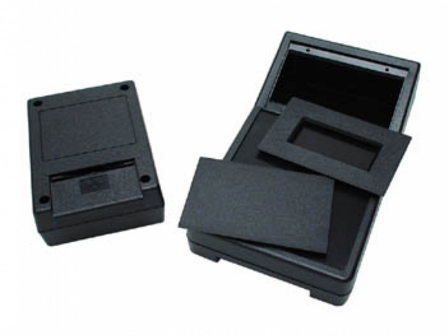 ABS BOX - BLACK 190 x 104 x 57mm