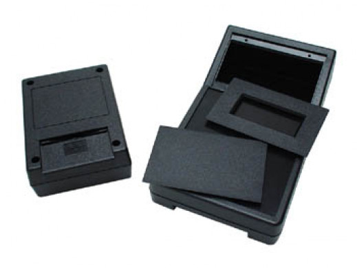 ABS BOX - BLACK 111 x 82 x...