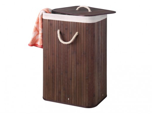 BAMBOO LAUNDRY BASKET -...