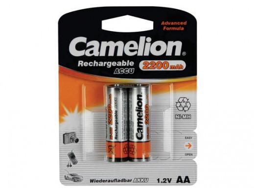 2 Ładowalne baterie NiMh AA