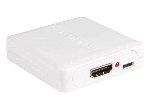 PRZETWORNIK HDMI -  VGA +...
