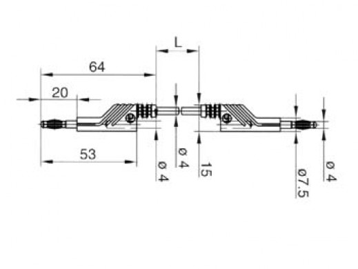 SZNUR POMIAROWY 4mm 100cm -...