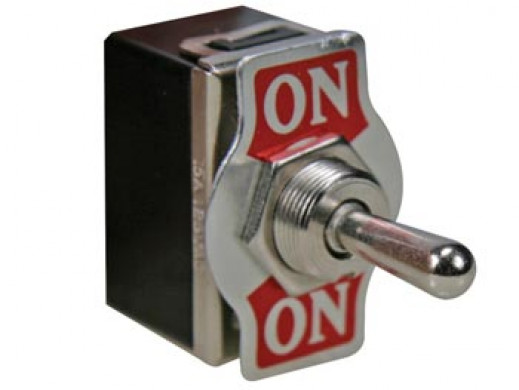 TOGGLE SWITCH DPDT 2P ON-ON...