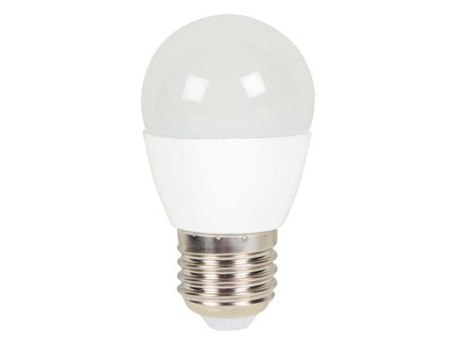 LAMPA LED OKRĄGŁA - 6 W - E27 - CIEPŁA BIEL