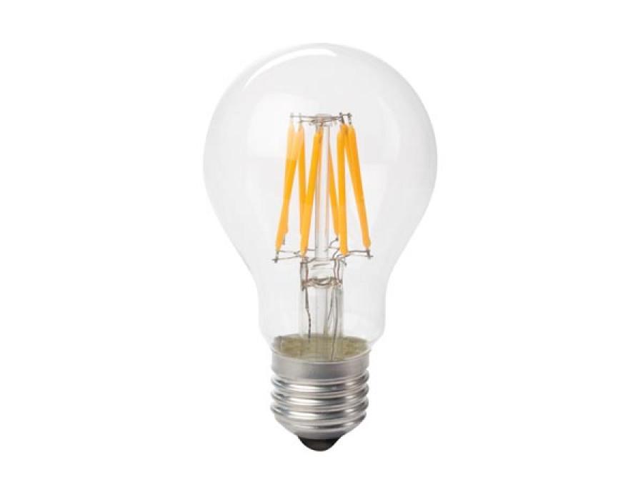 ŻARÓWKA LED - GRUSZKOWA - 8 W - E27 - CIEPŁE BIAŁE ŚWIATŁO