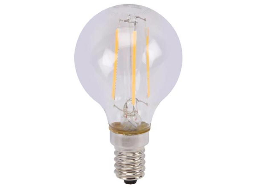 ŻARÓWKA LED - OKRĄGŁA - 5 W - E14 - CIEPŁY BIAŁY