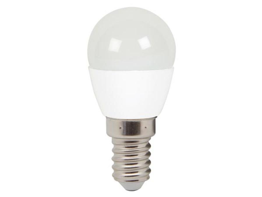 LAMPA LED OKRĄGŁA - 6 W - E14 - CIEPŁA BIEL