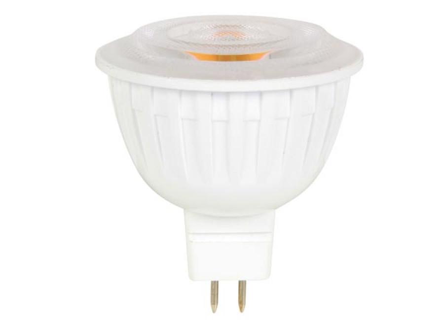 SPOT LED - 7.5 W - GU5.3 (MR16) - CIEPŁA BIEL
