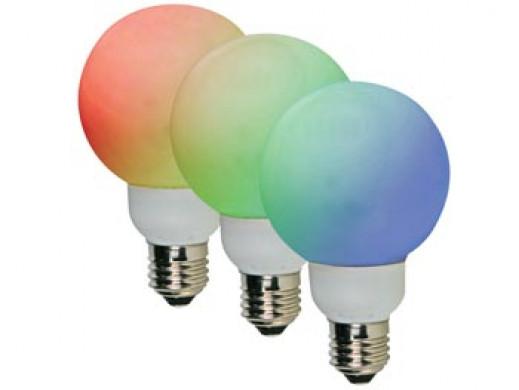 ŻARÓWKA LED RGB (E27)