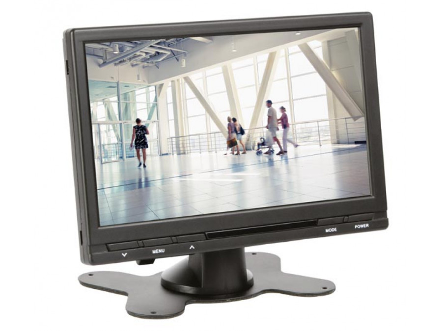 "7""  MONITOR TFT-LCD Z PILOTEM - CYFROWY - 16:9 / 4:3"