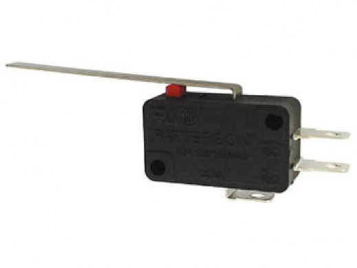 MICROSWITCH 12A, LONG LEVER