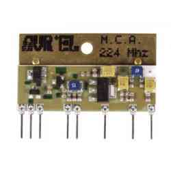 CATV AMPLIFIER VIA H2 CHANNEL ON VHF BAND