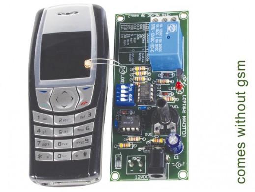 Zdalne sterowanie przez GSM