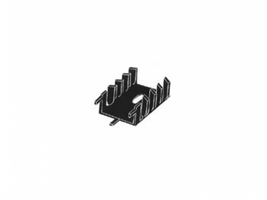 HEATSINK TO220/TO3P 15.5°C/W WITH PINS