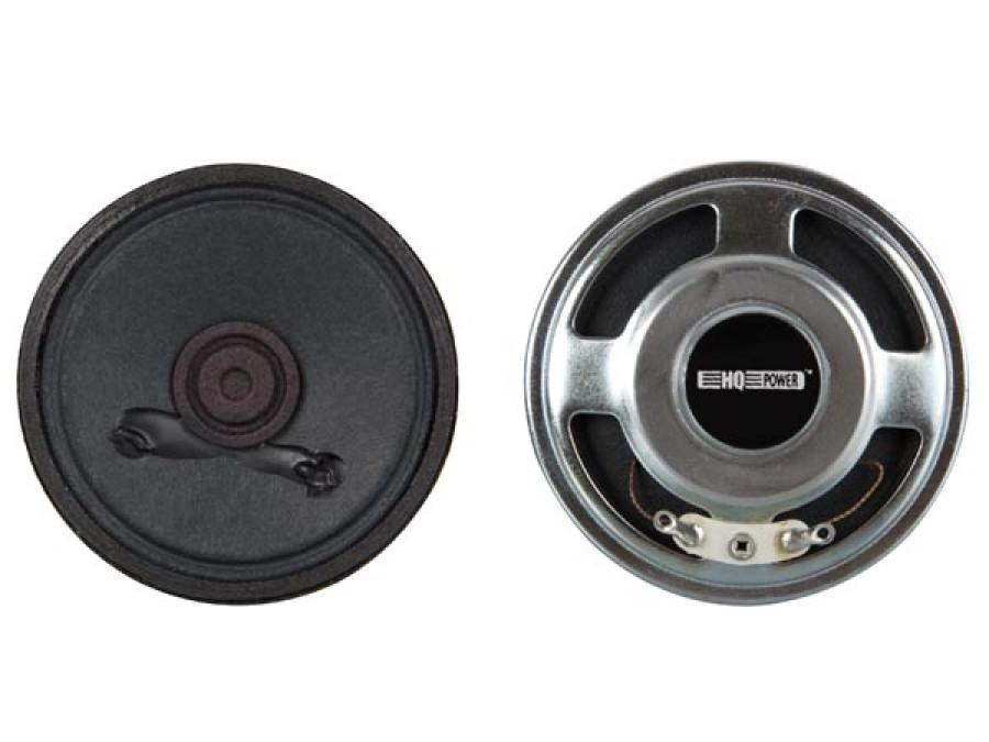 MINI LOUDSPEAKER - 0.5W / 8 ohm - Ø 50mm
